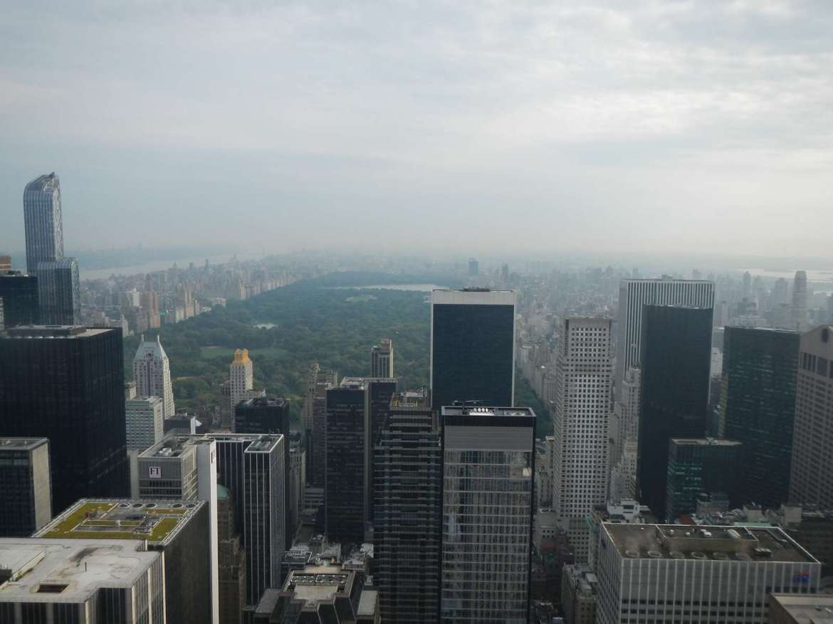 New York - Vue depuis le Top of the Rock