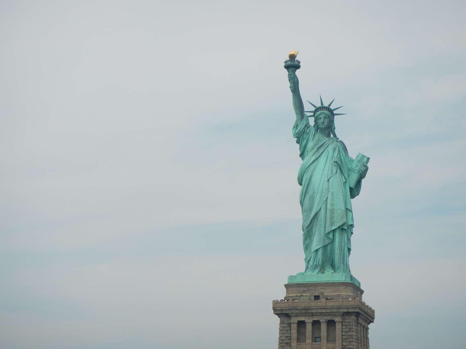 New York - Statue de la liberté - Claironyva