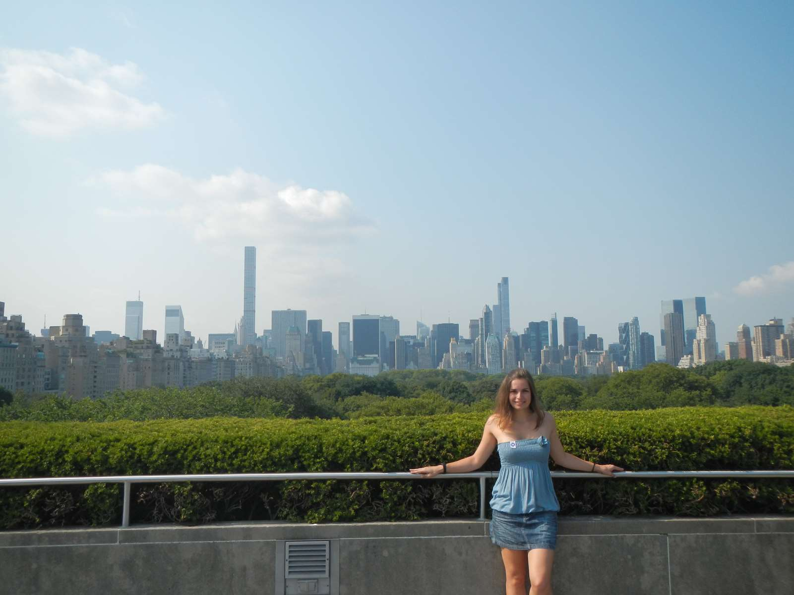 New York - le MET Rooftop