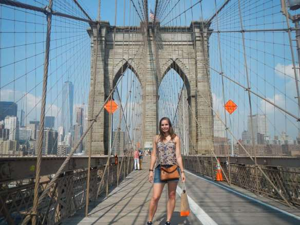 Cover Claironyva New York - Brooklyn Bridge
