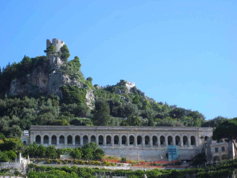 Italie-Amalfi Cimetière
