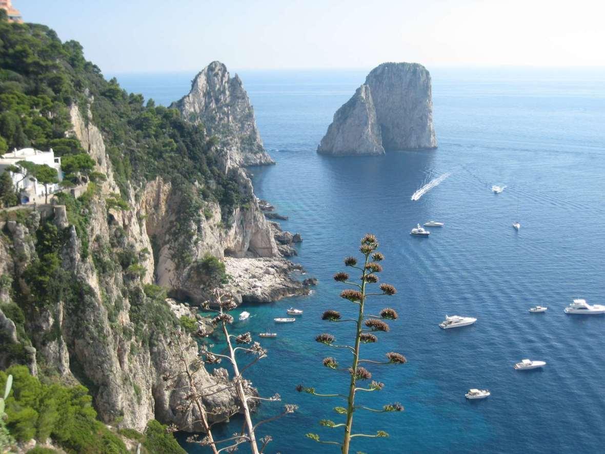 Italie - Capri - côte amalfitaine