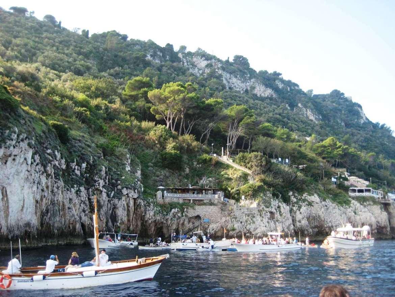 Italie-Capri Grotte Bleue