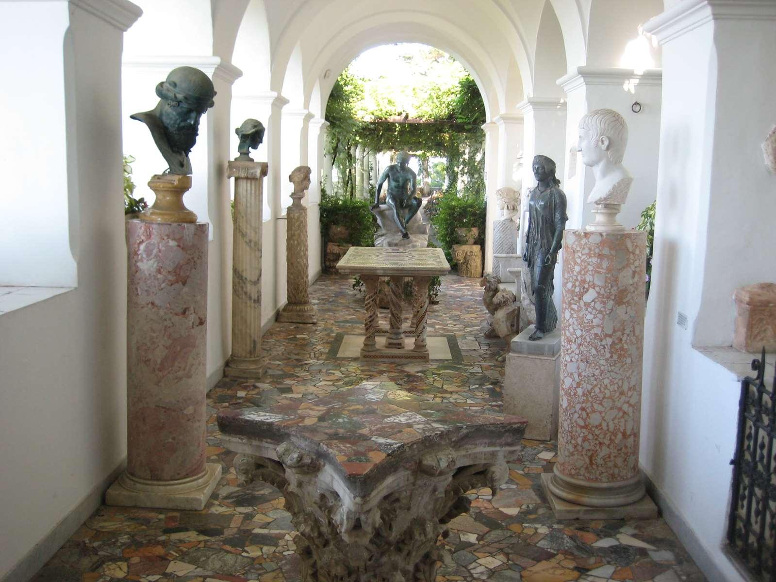 Italie-Capri Villa Axel Munthe