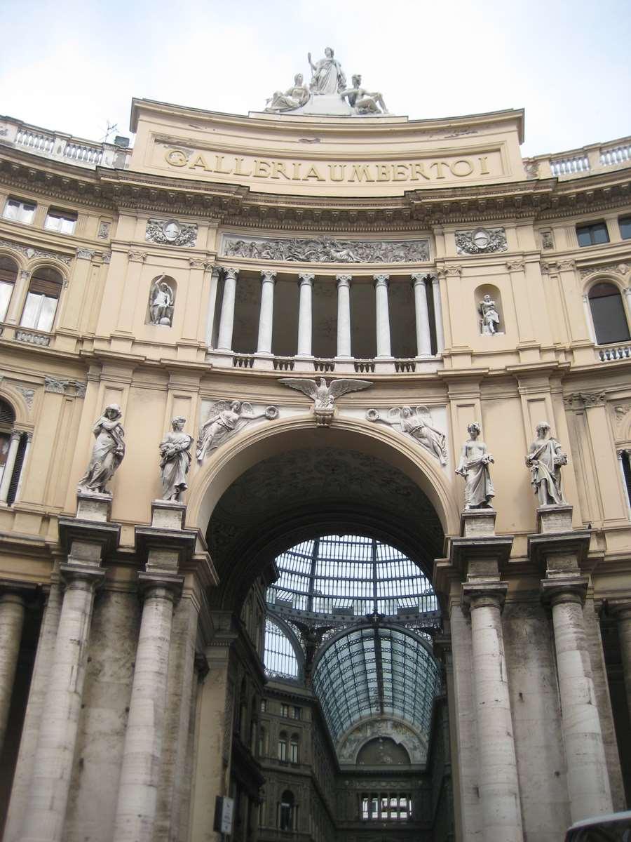 Italie-Naples Galerie Umberto I