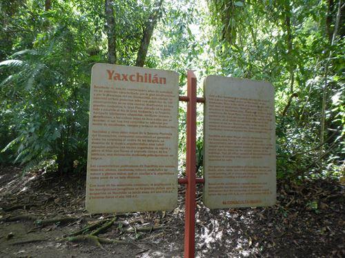 Palenque -- Direction Yaxchilan