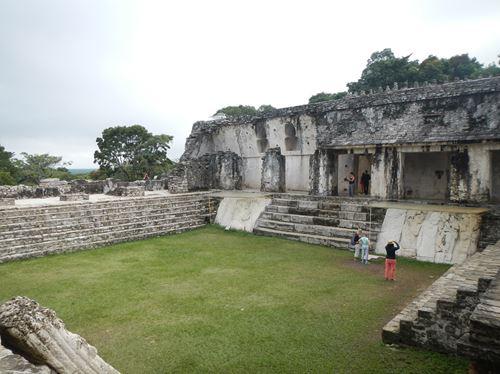 Palenque - site archéologique - Le Palais
