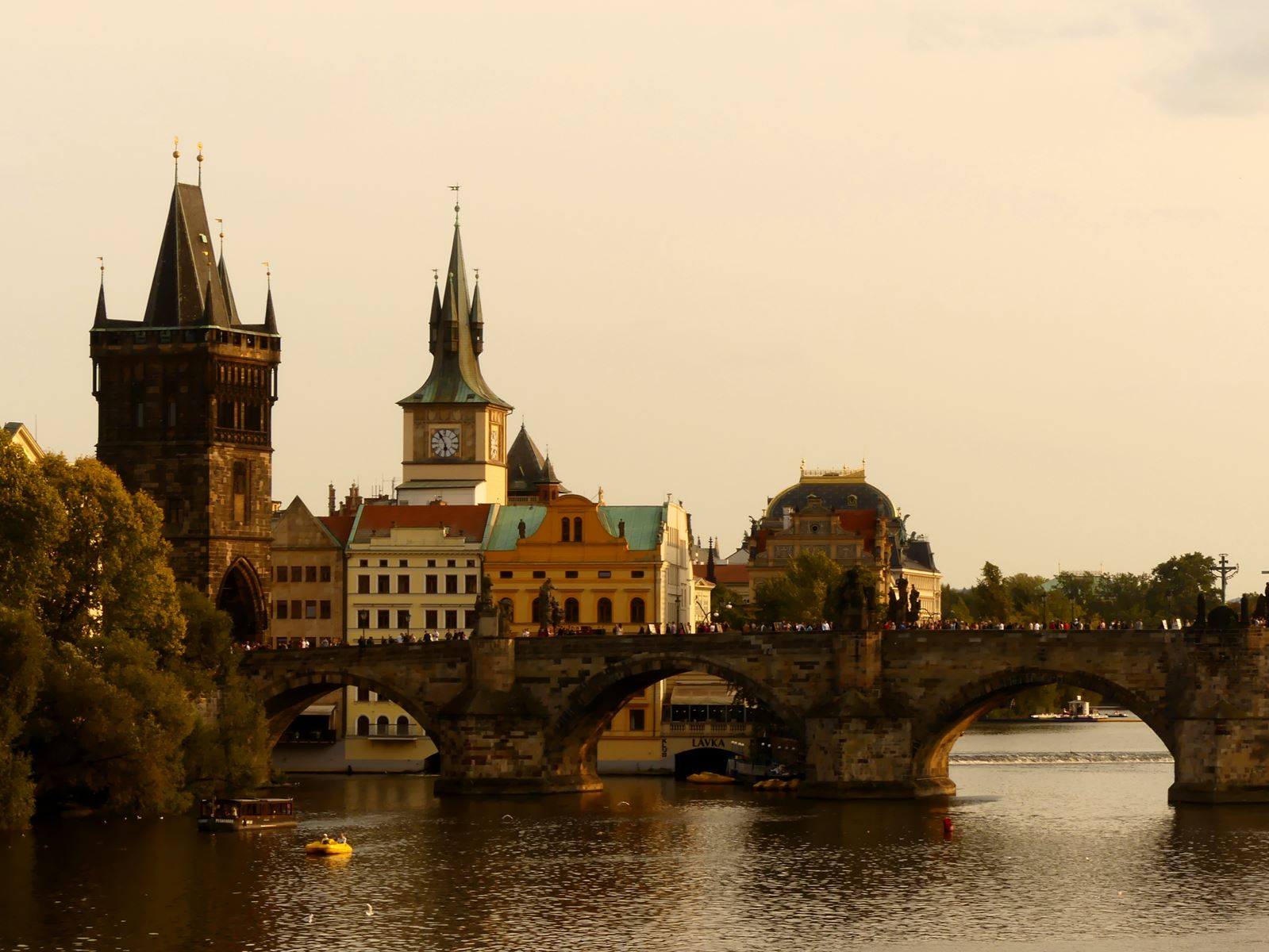 Prague Claironyva Pont Charles