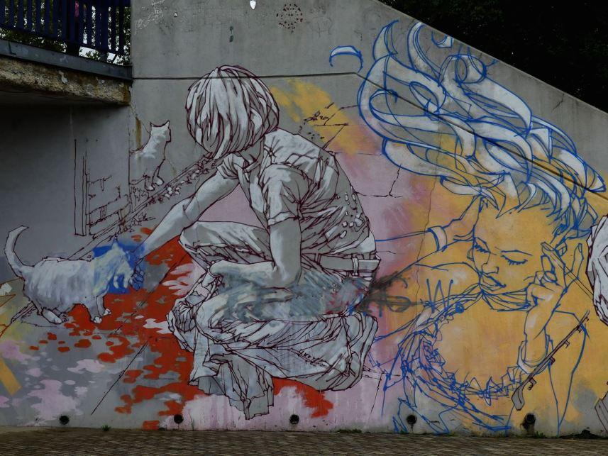 Prague Street Art Claironyva