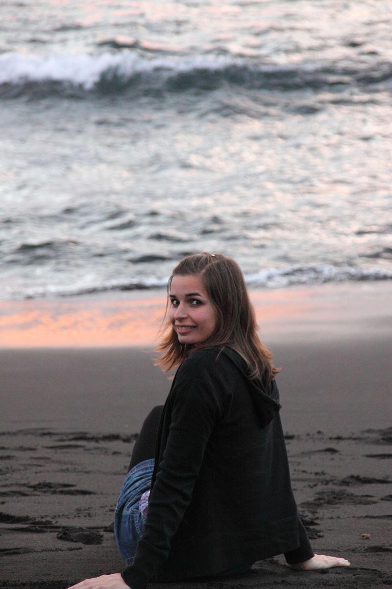 Tenerife Playa la Arena, coucher de soleil Claironyva