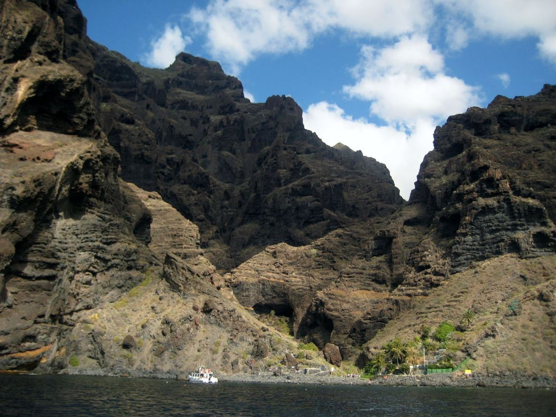 Tenerife Los Gigantes balade en bateau Claironyva