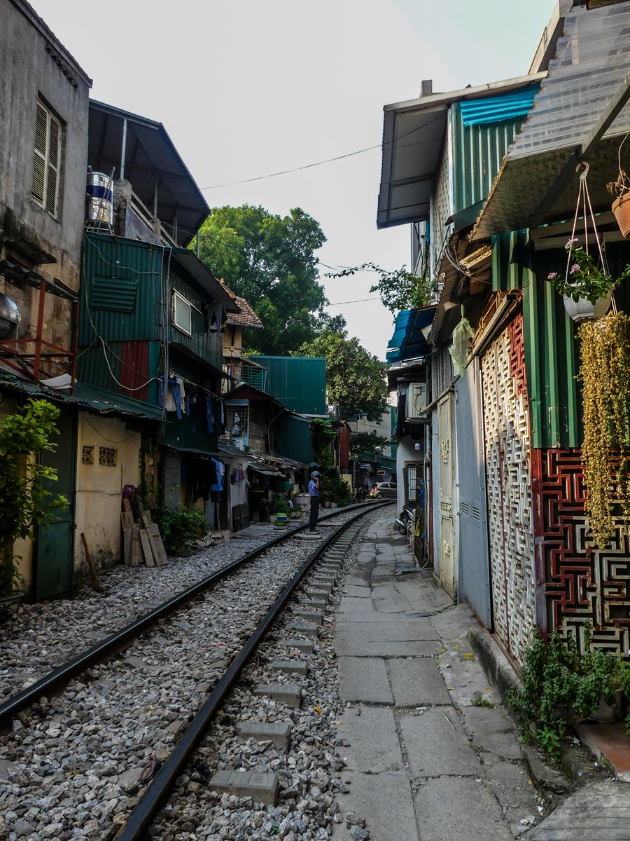 Claironyva Vietnam Hanoi Chemin de fer