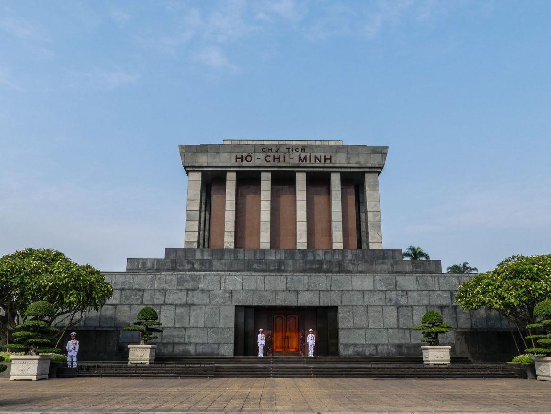 Claironyva Vietnam Hanoi Mausolée Ho Chi Minh