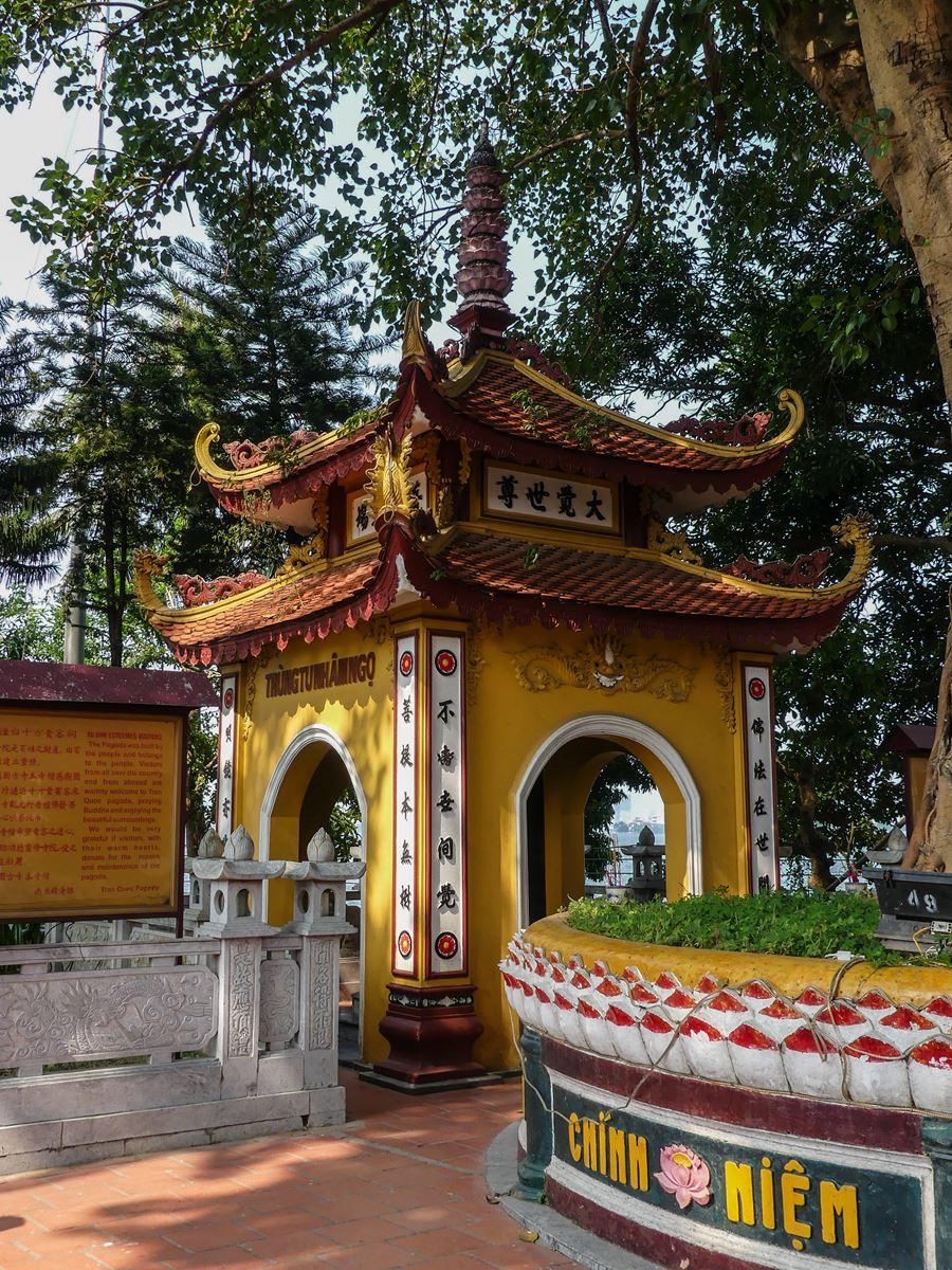 Claironyva Vietnam Hanoi Pagode Lac de l'Ouest