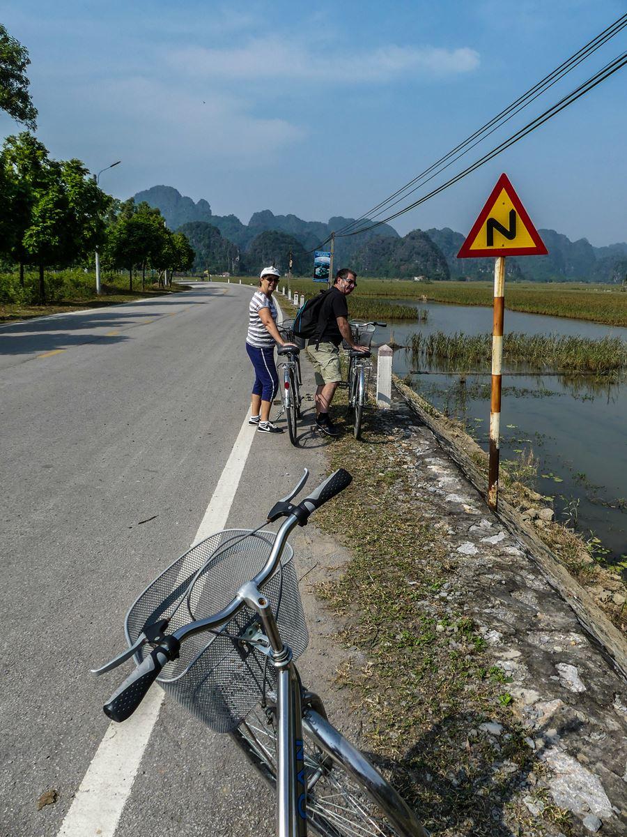 Vélo à Tam Coc Baie d'Halong terrestre