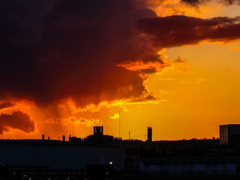 Claironyva - Séville - Metropol Parasol Coucher de soleil
