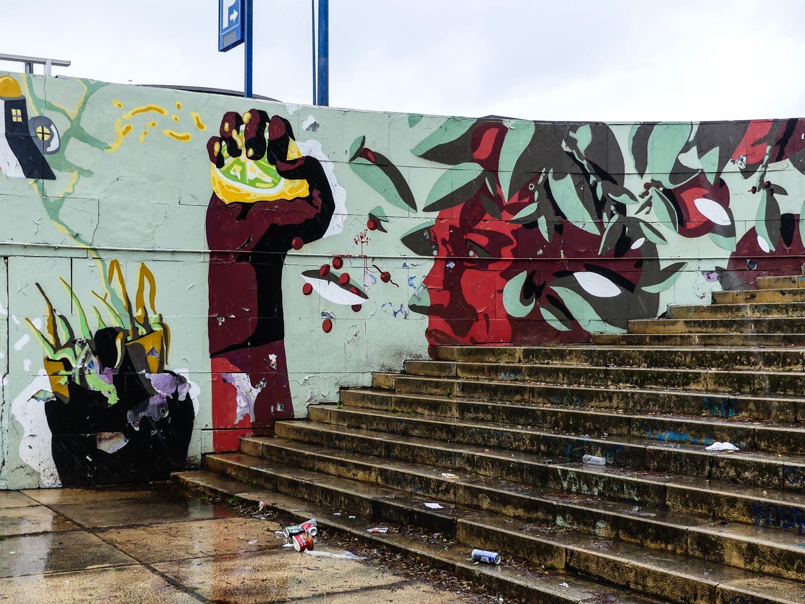 Claironyva - Séville - Plaza de Armas - Street Art