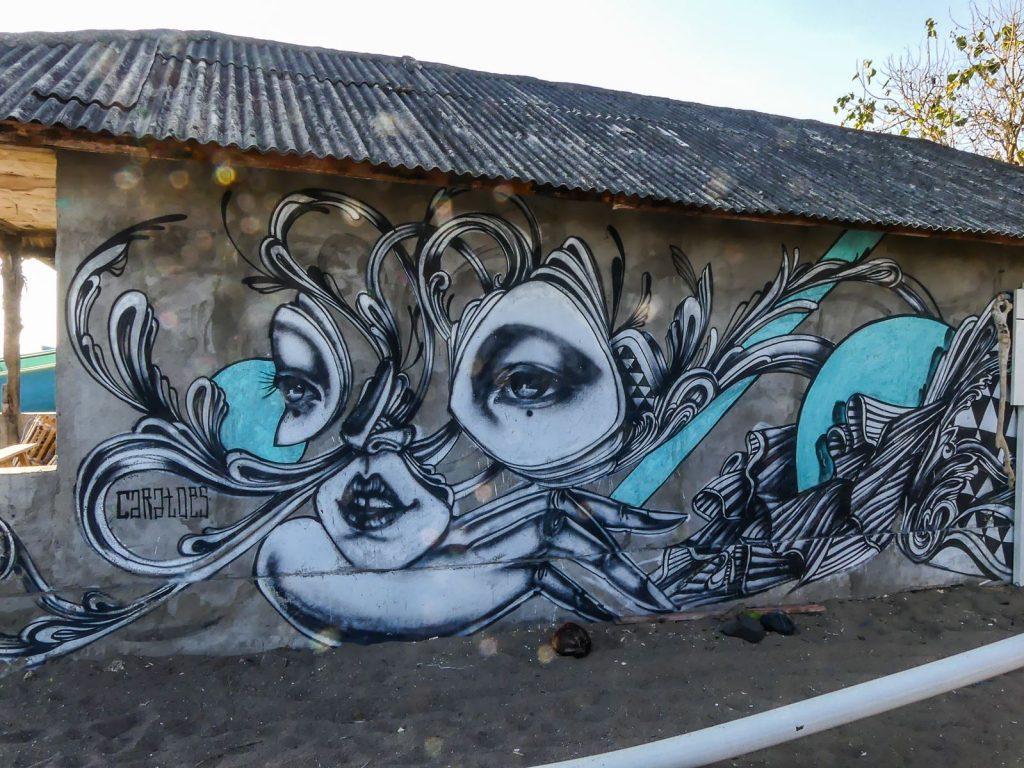 Bali Canggu street art