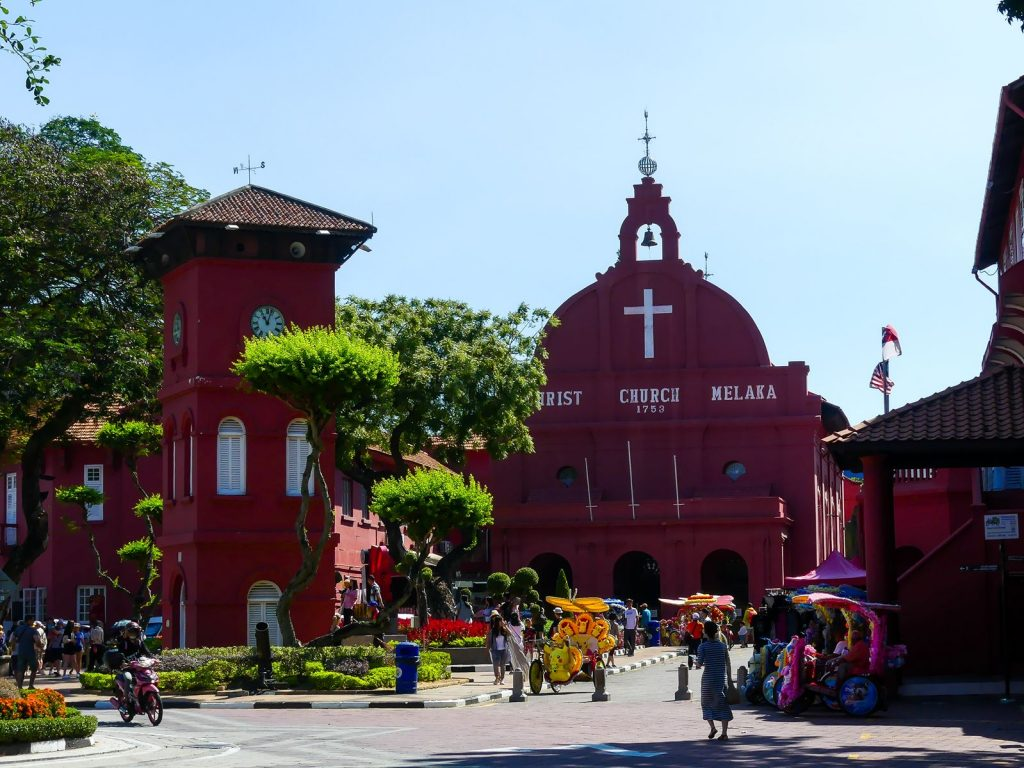 Quartier rouge hollandais - Malacca