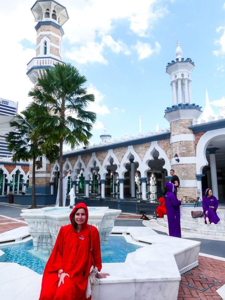 Kuala Lumpur : mosquée Jamek