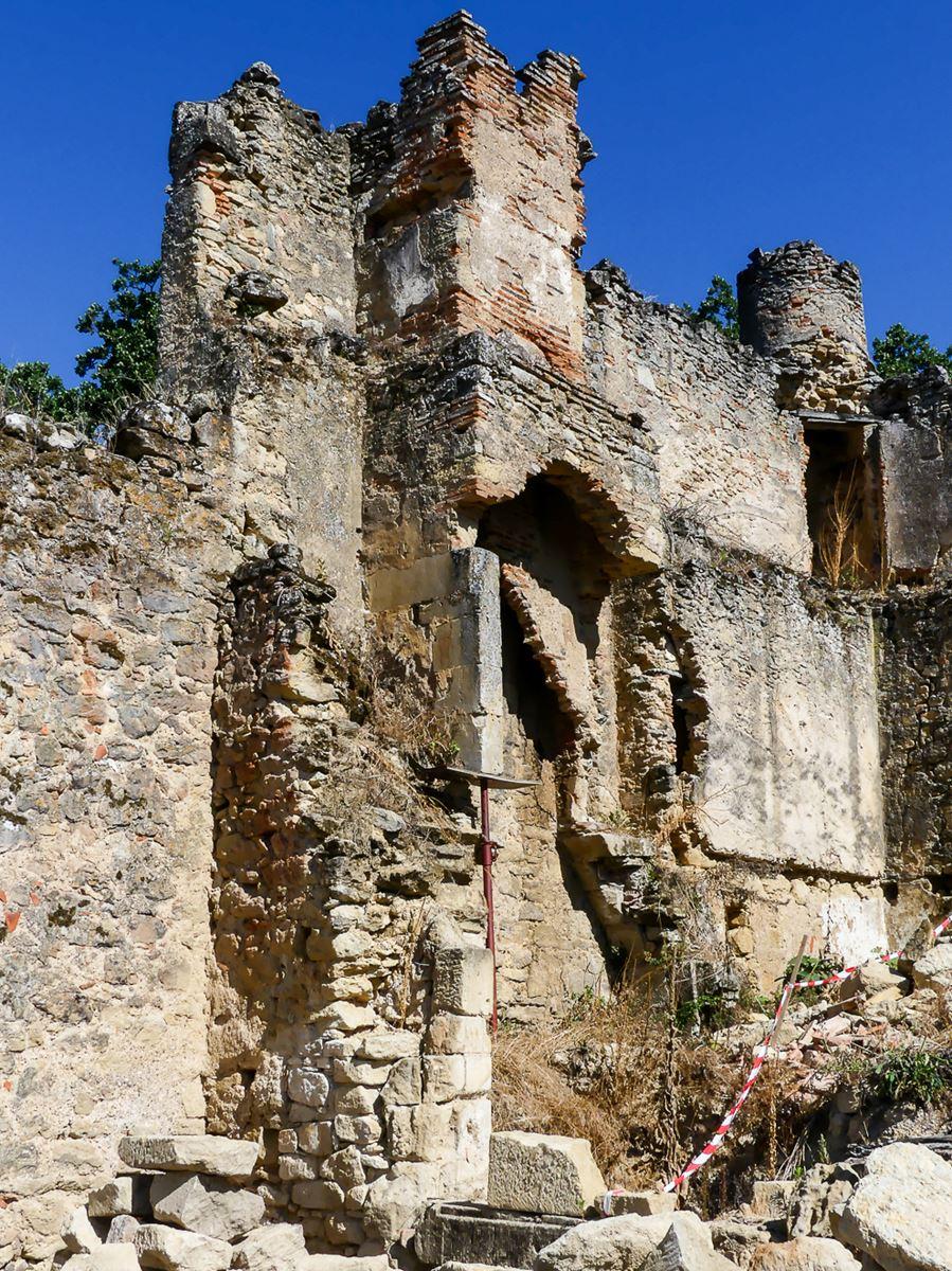 Cheminée Château de Montfa