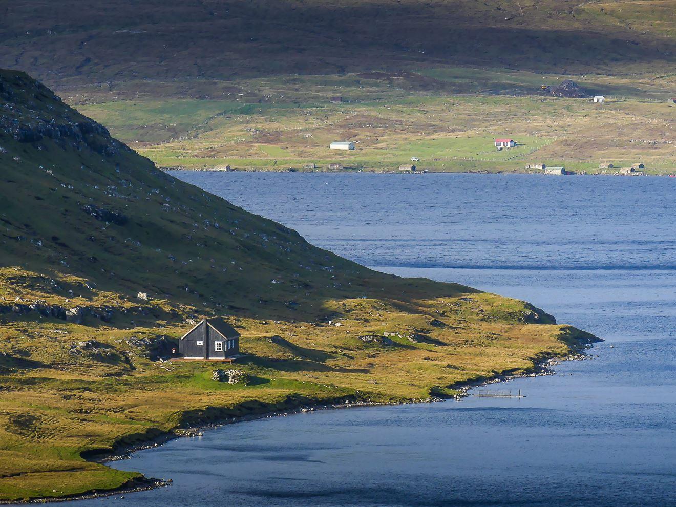 Randonnée du lac de Sorvagsvatn - Iles Feroe
