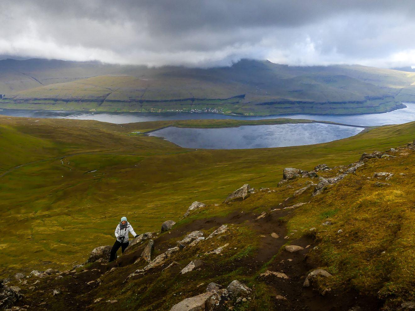 Randonnée sommet le plus haut des Feroe