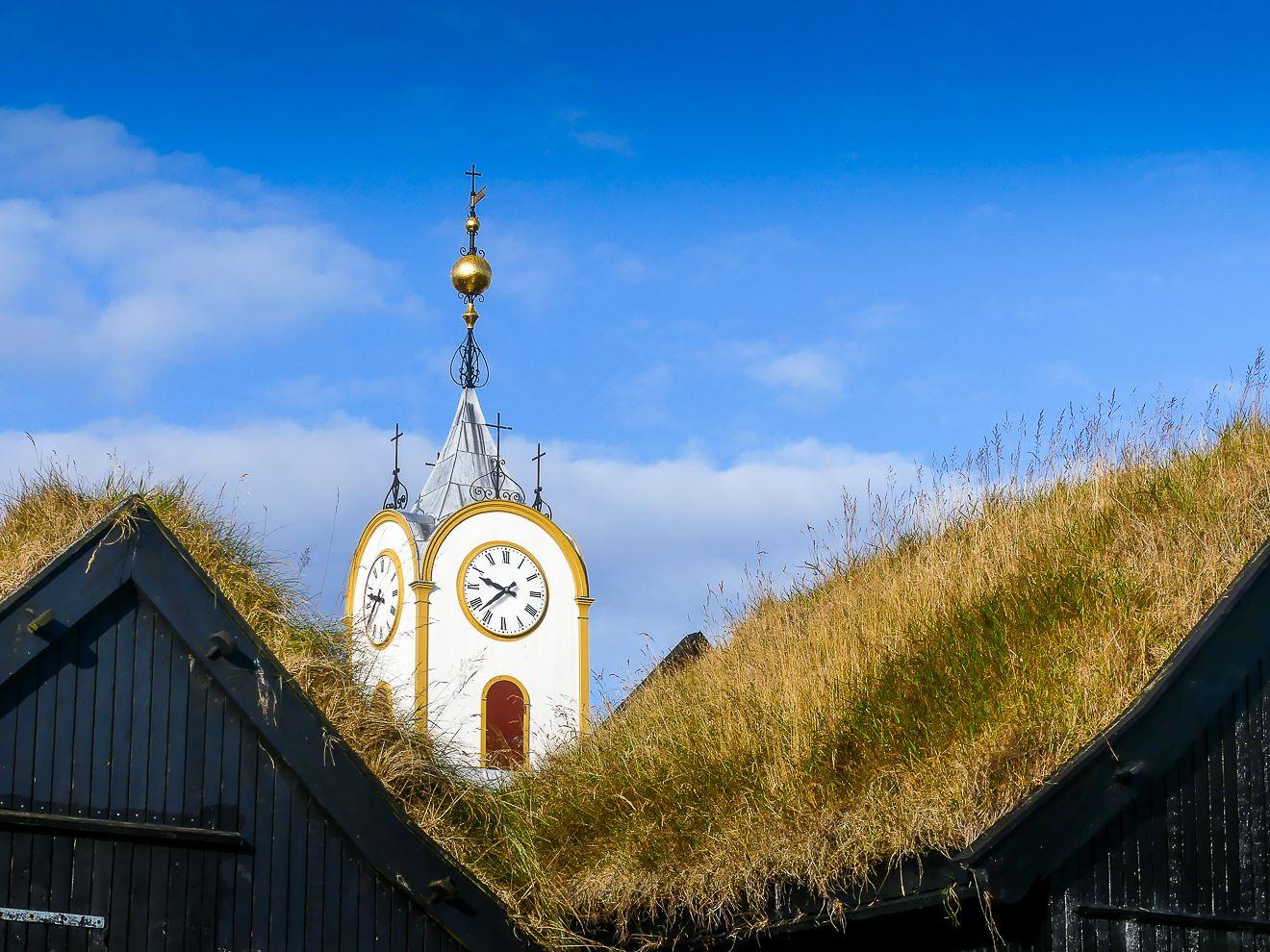 Eglise de Torshavn - capitale des Iles Feroe