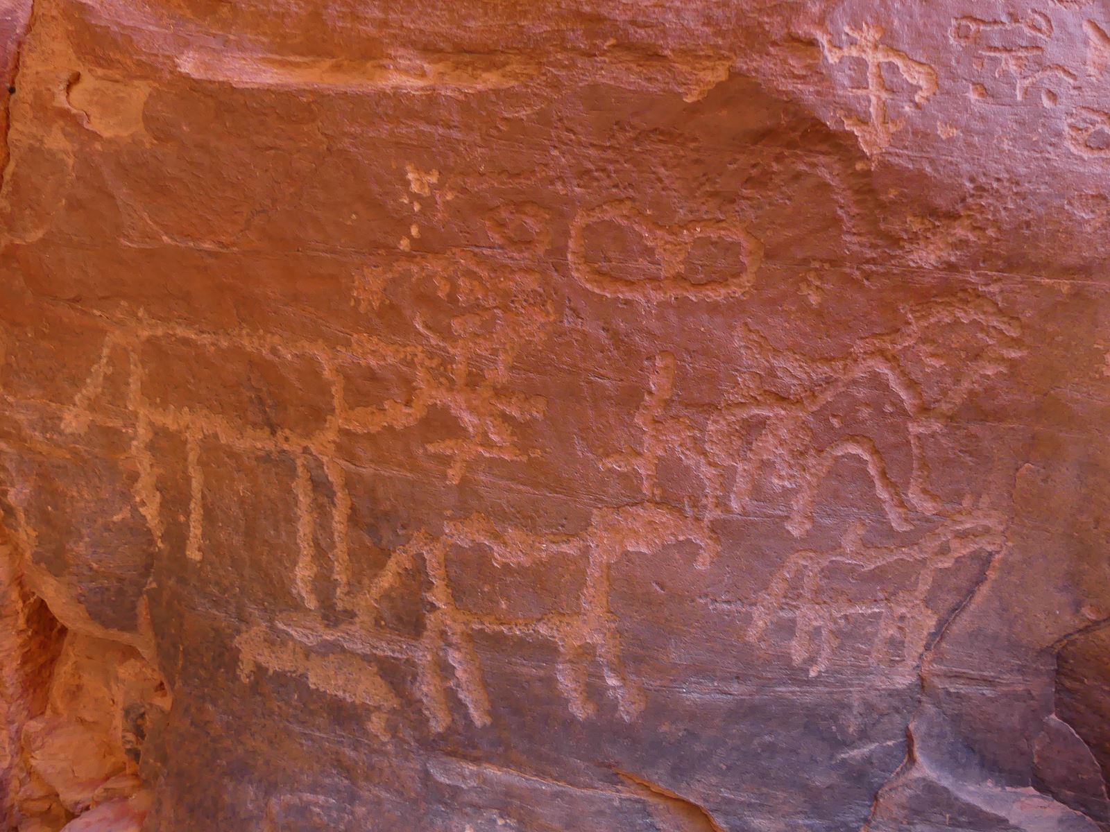 Wadi Rum - Inscriptions