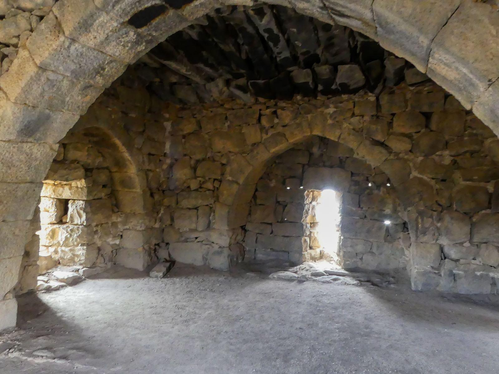 Jordanie - château du désert - Azrak - chambre de Lawrence d'Arabie