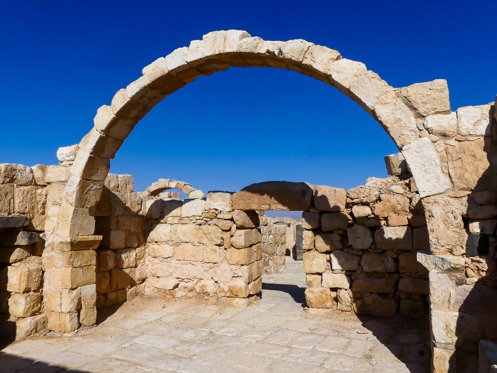 Jordanie - châteaux du désert - Qasr Al Hallabat