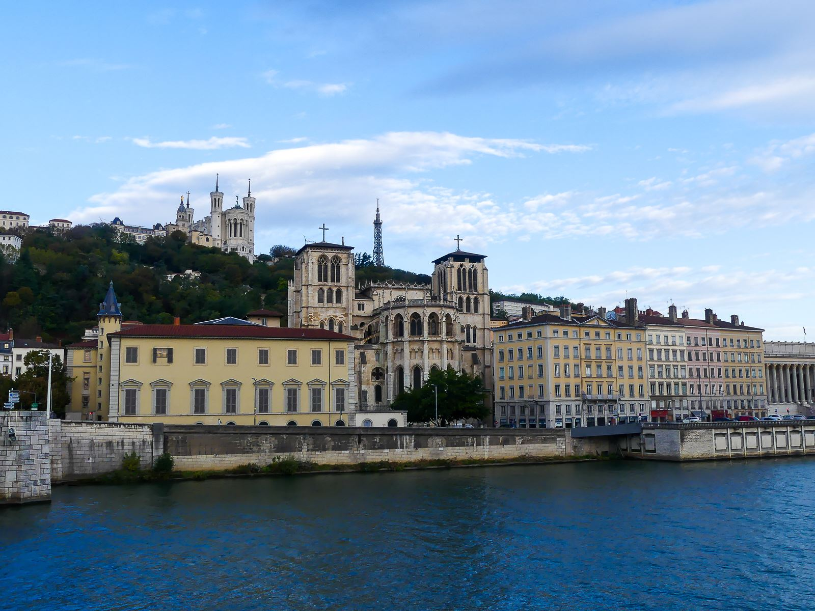 Lyon bord de Saône