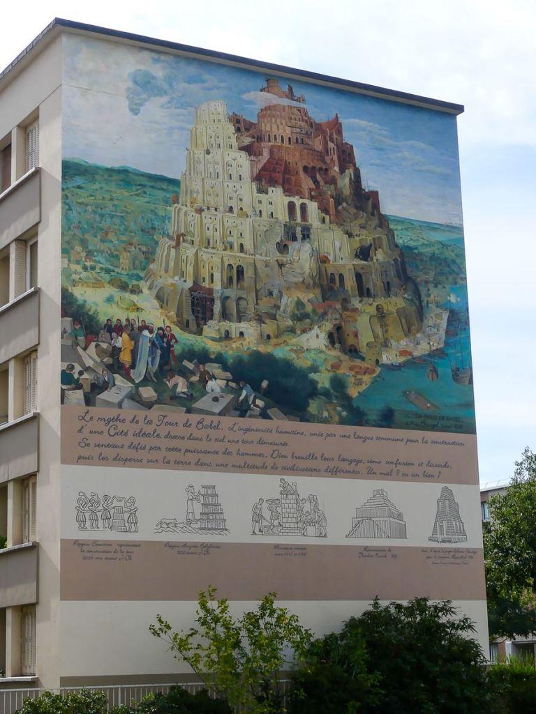 Lyon-fresques Babel