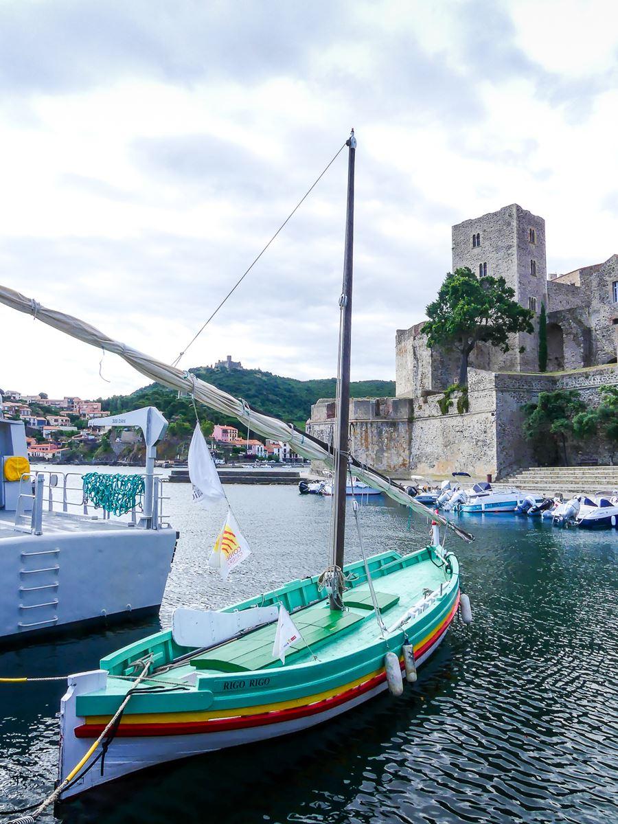 Barque à Collioure