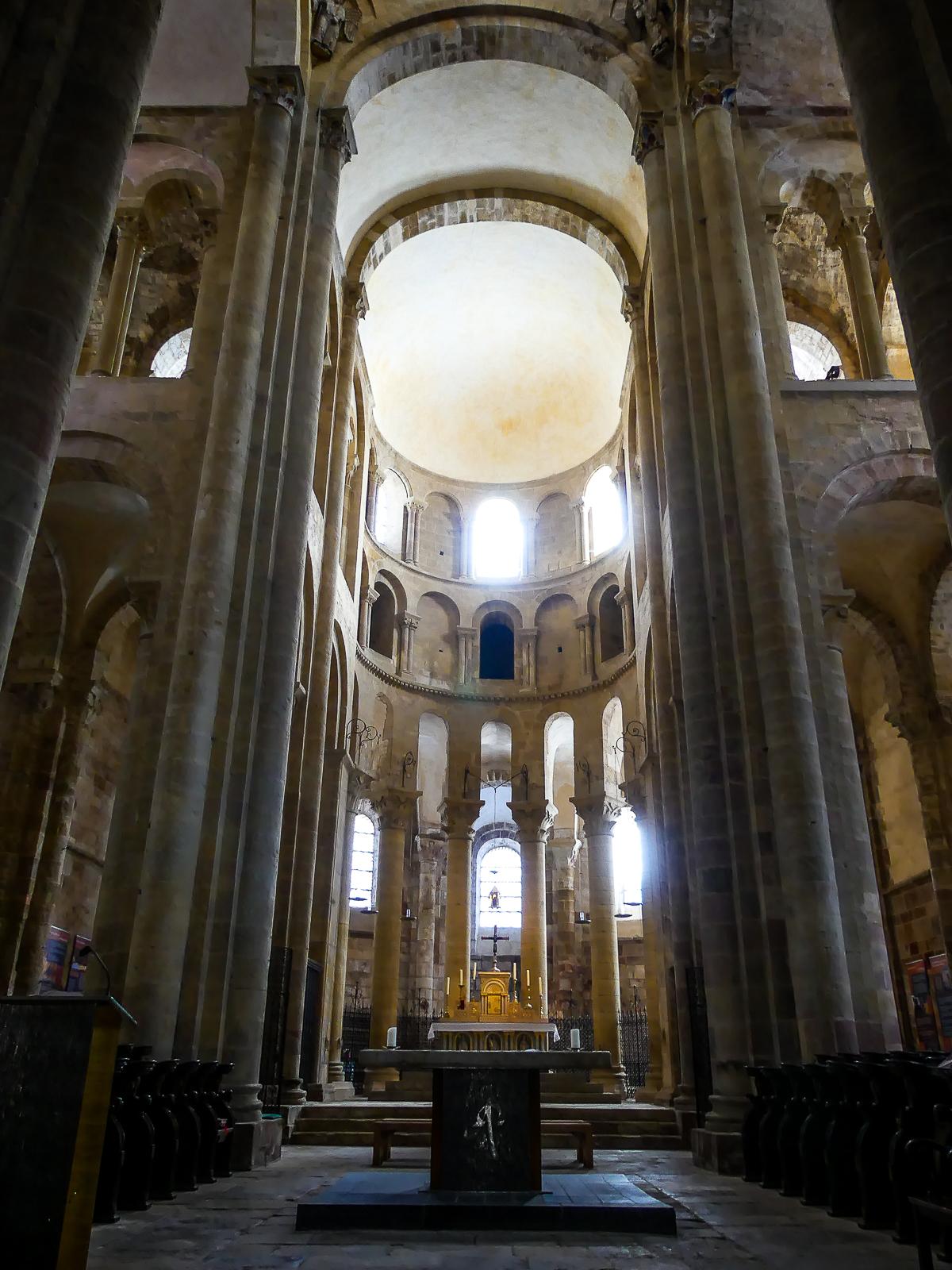 Conques - Abbatiale Saint Foy