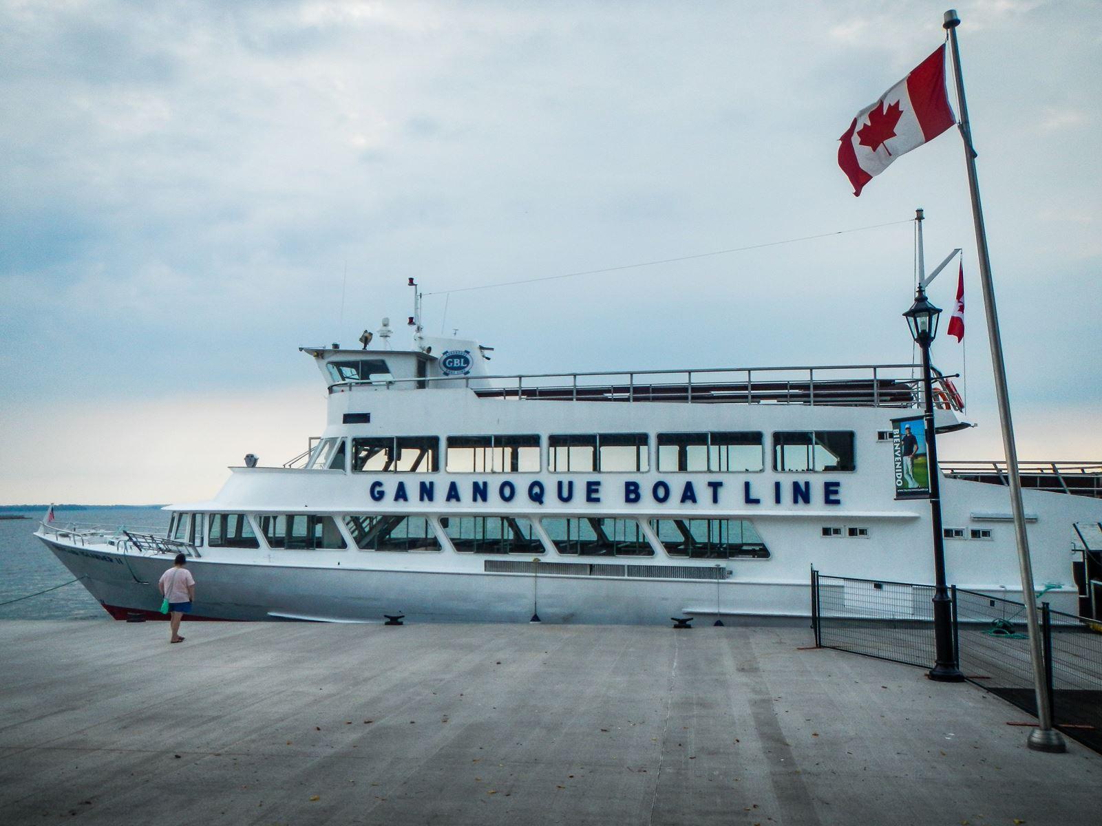 Croisière depuis Gananoque - Canada