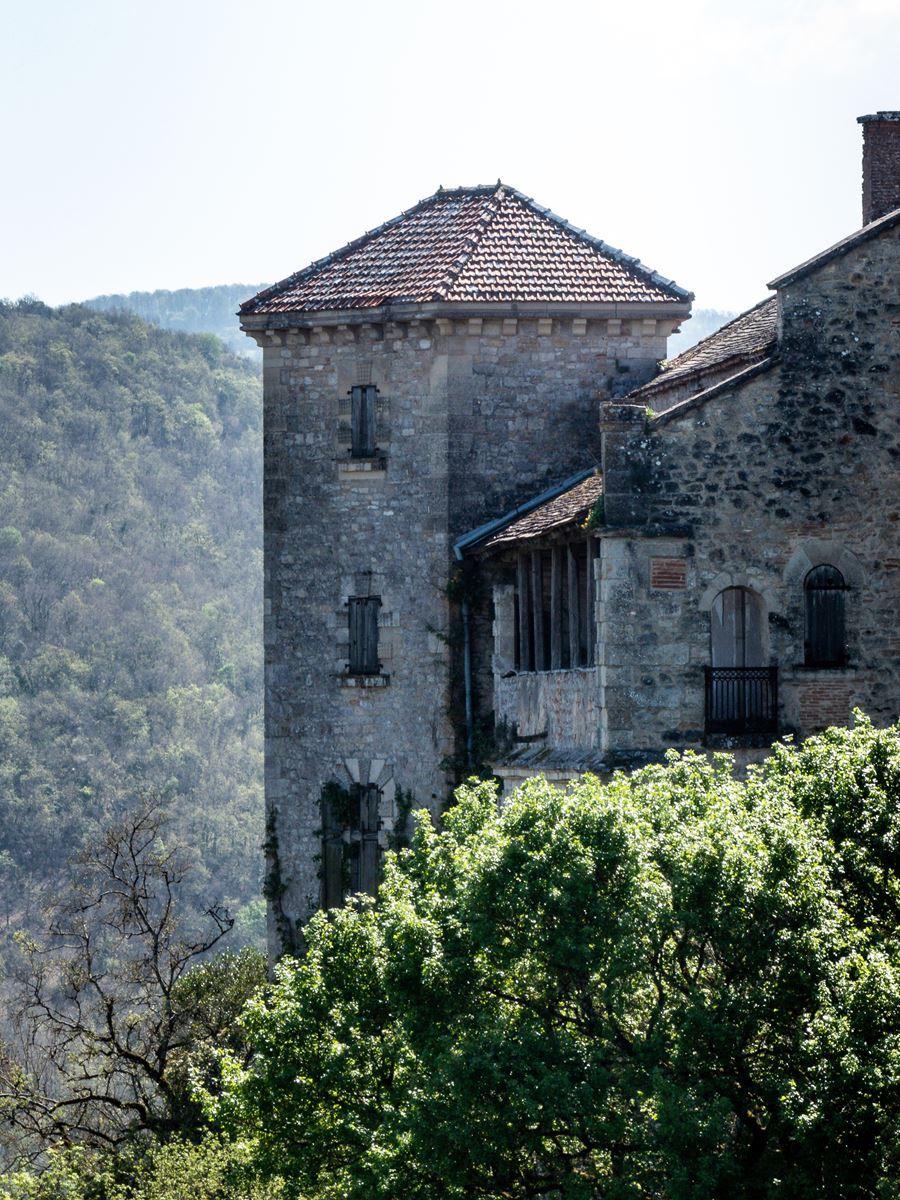 Vue sur les châteaux