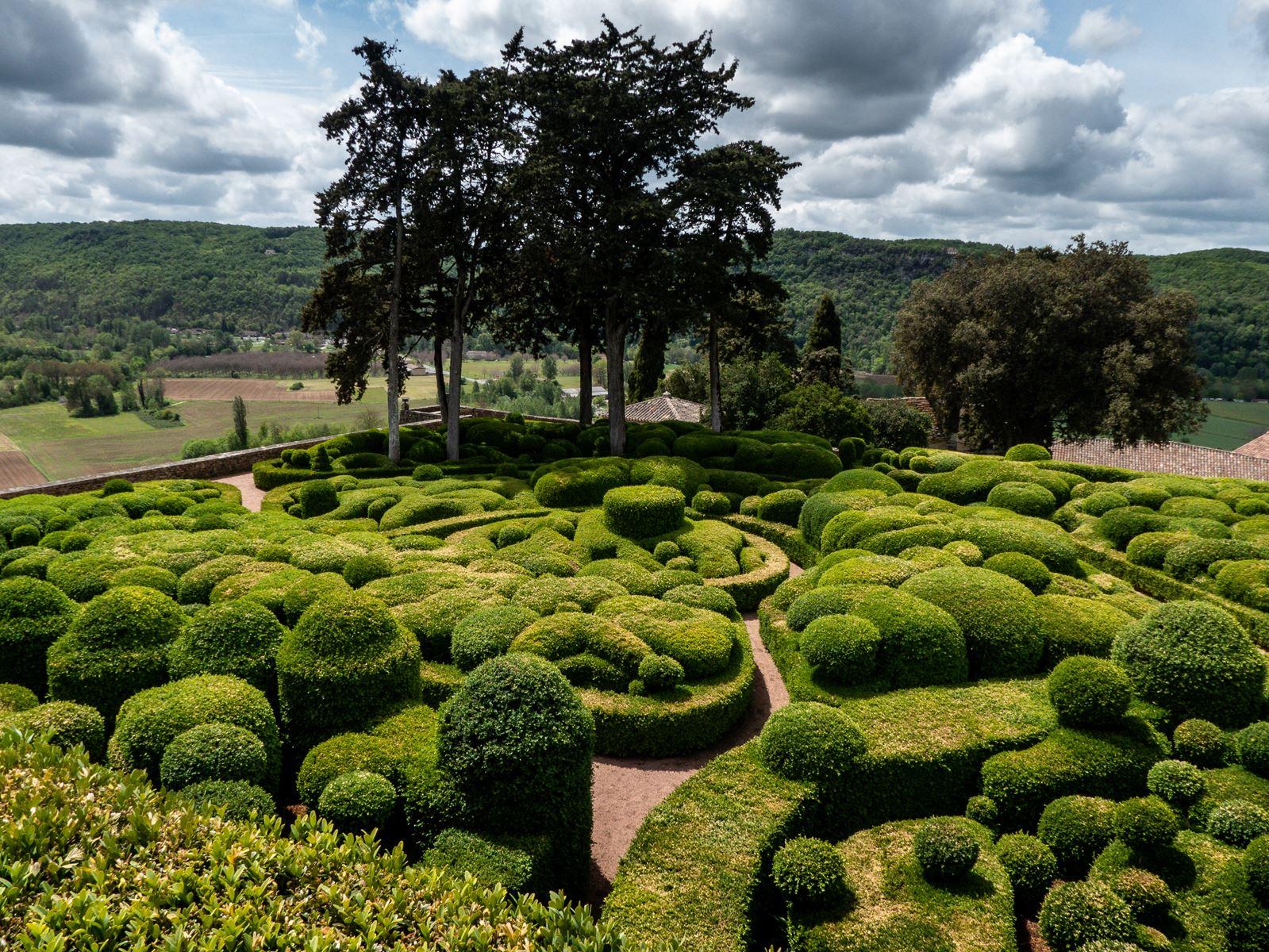 Visite des Jardins de Marqueyssac