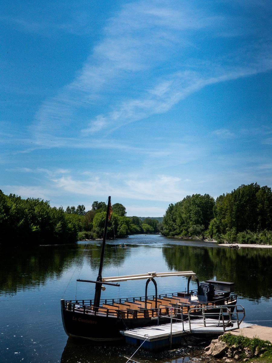 La Dordogne et ses gabarres