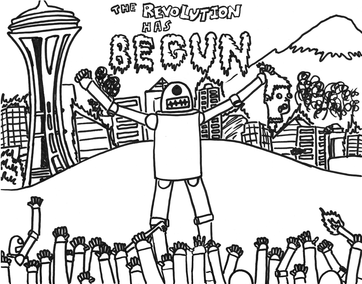 Bear Totem Pole Page Coloring Pages