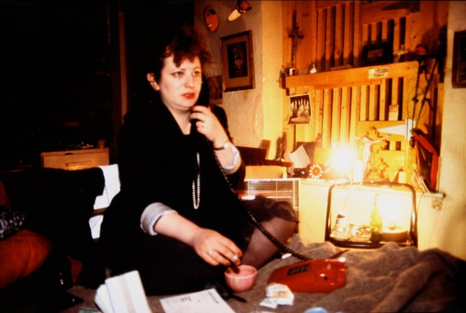 Nan Goldin, Nan at her bottom..., The Bowery, NYC