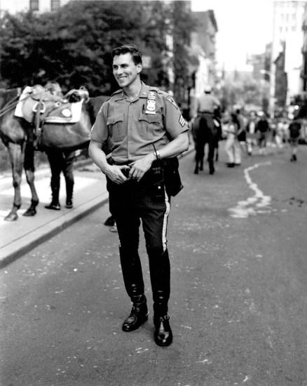 Walter Briski, Jr., Untitled (Policeman)