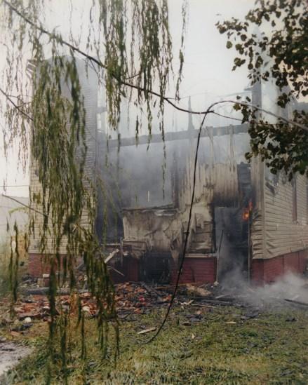 House fire back