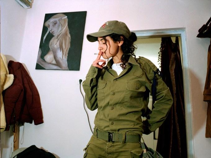 Rachel Papo, Relaxing at home, Kibbutz Kfar Hanassi, Israel