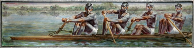 Mark Beard, Bruce Sargeant, Four Rowers 2