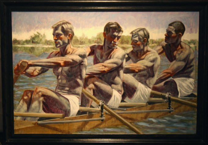 Mark Beard, Bruce Sargeant, Rowing Team