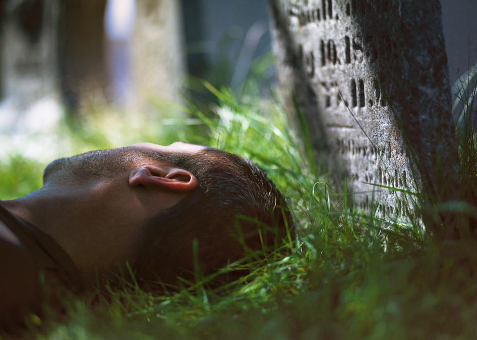 Frank Yamrus, untitled (Cemetery)