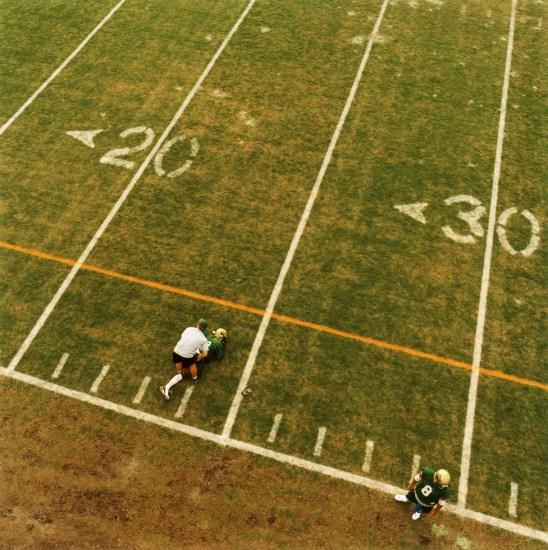 Brian Finke, Untitled (Football 107)