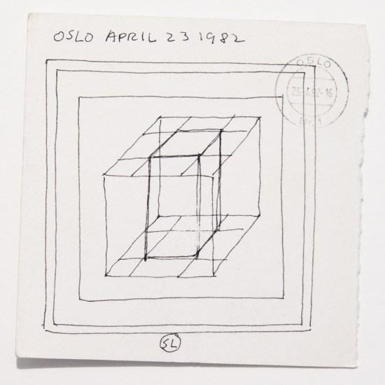Sol LeWitt, Oslo Drawing