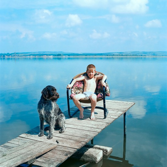 Evzen Sobek, Boy with Dog